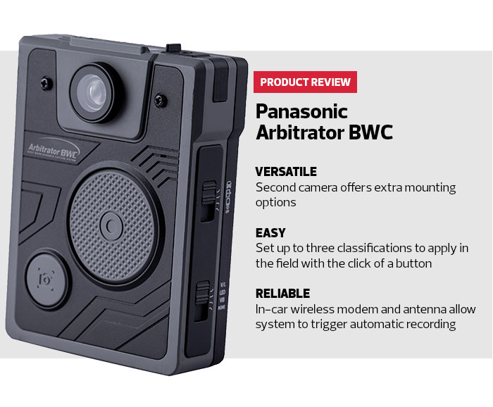 Review Panasonic Arbitrator Bwc Body Camera Helps Law