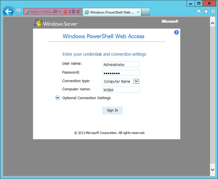 Windows Server 2012 screen shot 2