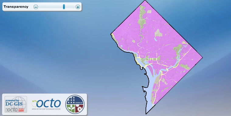Washington DC broadband map