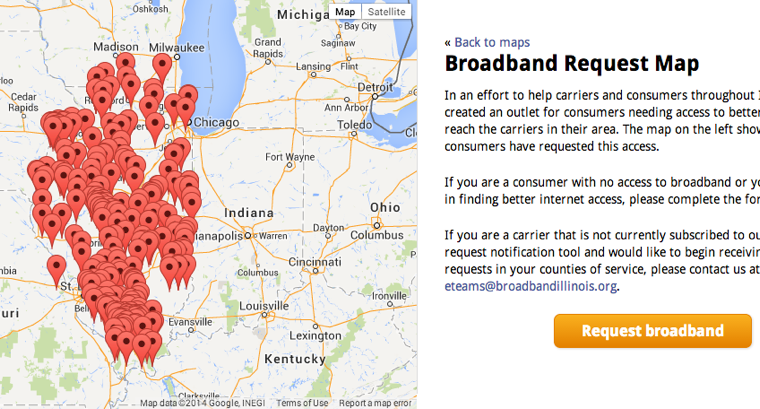 The United States Of Broadband Beautiful Maps Of Connectivity - Us braodband map