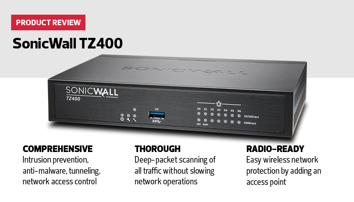 Review Sonicwall Tz400 Provides Local Governments With
