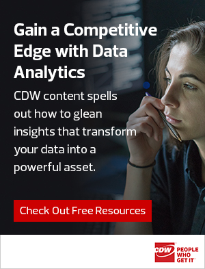 data analytics right rail