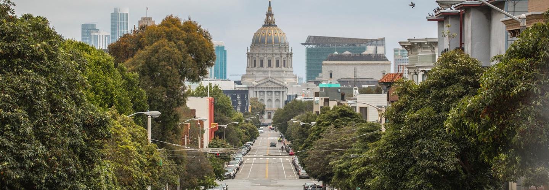 San Francisco city hall building