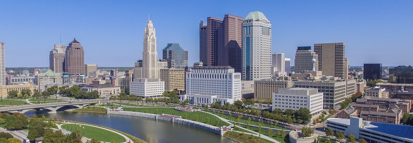 Downtown Columbus, Ohio's skyline