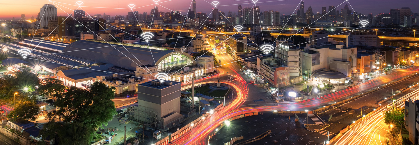 5G networks in a smart city