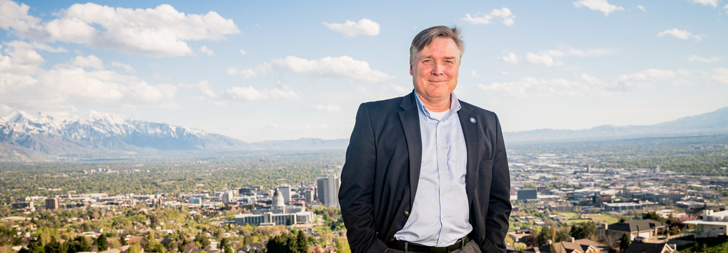 Utah CIO Michael Hussey finds a hybrid cloud model to be an obvious choice to meet the demands of some state applications.