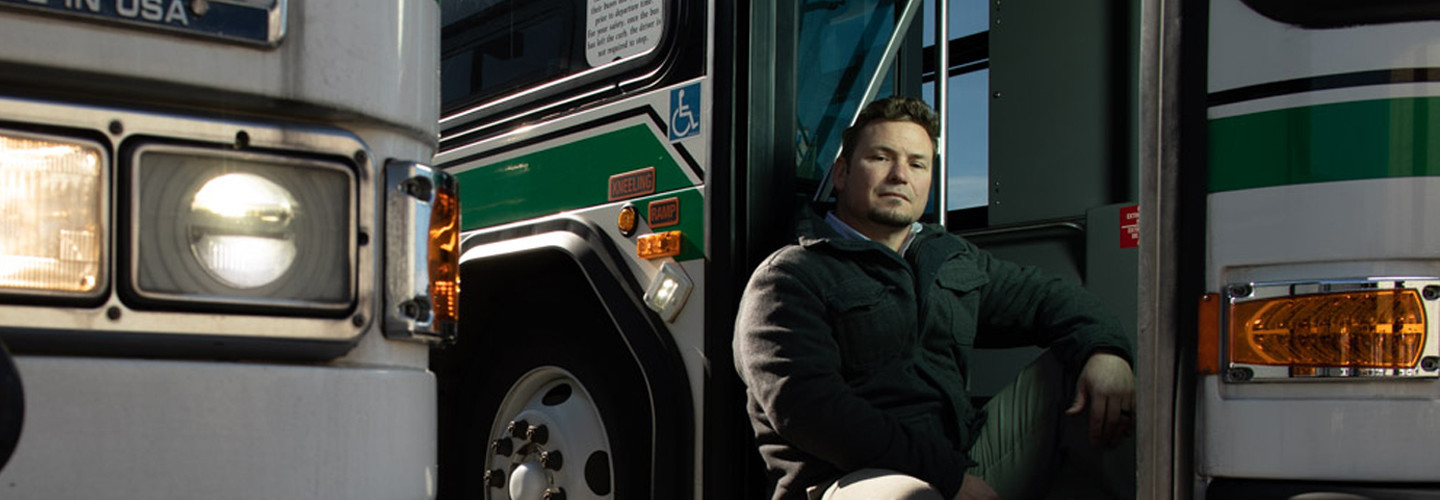 Yakima Transit IT Services Manager John Carney helps keep his city's buses on schedule with in-vehicle gateways.