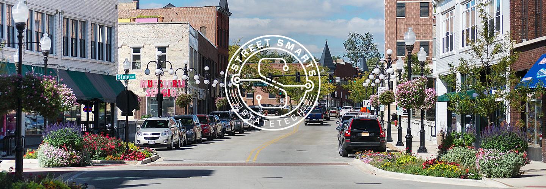 Smart city Aurora Illinois