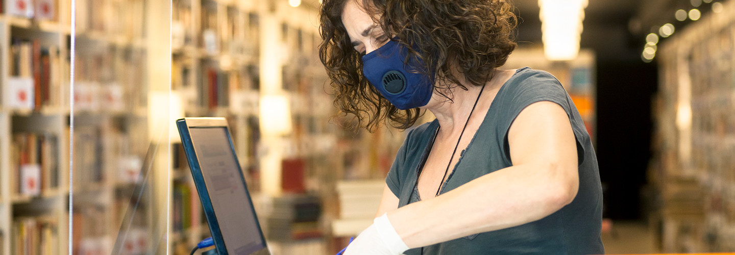 Libraries during the pandemic