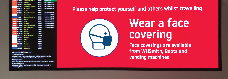 Public health digital signage