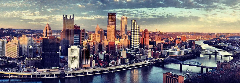 Pittsburgh city skyline