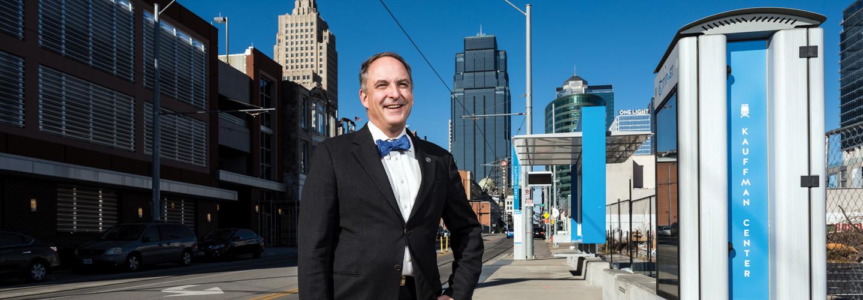 Bob Bennett, chief innovation officer for Kansas City, Mo.