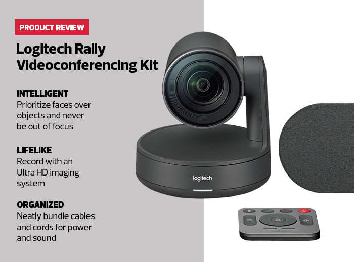 Review: Logitech Rally Bridges the Miles for State and Local