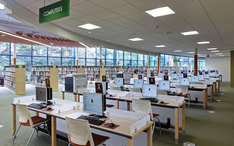 At Cuyahoga County Public Library, Cuyahoga Works encourages patrons to take classes and obtain stackable credentials that can be used to advance their careers.
