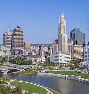 Downtown Columbus, Ohio's skyline