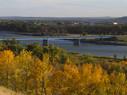 Fall scene of Missouri River at Bismarck ND.