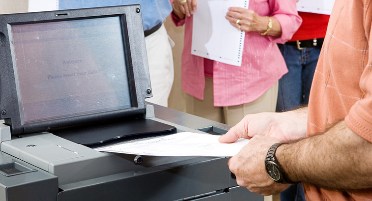 Network Threats and Voting Machine Security