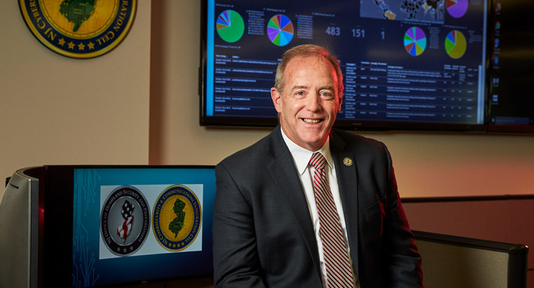 New Jersey CISO Michael Geraghty recognizes  cybersecurity threats must be mitigated holistically as part  of a greater security plan.