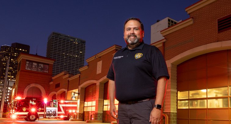 Dr. Michael Gonzalez, ETHAN Project Program Director at the Houston Fire Department says his department saves significant time and money thanks to its Panasonic Toughpads.
