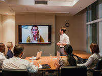 Modern meeting using video collaboration tech