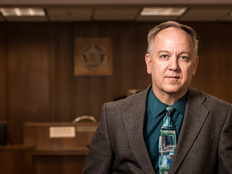 San Antonio Municipal Court Manager Jason Tabor spearheaded an effort to use videoconferencing to support remote court hearings.