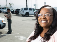 Afton Terry oversees  parking citations for the city of Long Beach, Calif., which now uses a faster, simpler Samsung Galaxy for tickets.