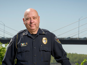 Cape Girardeau (Mo.) Police Chief Wes Blair sought body-worn cameras to improve transparency and record  important evidence for prosecutions.