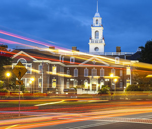 The Capitol Building in downtown Dover, Delaware.